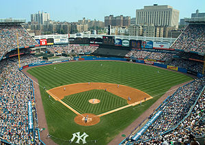 Yankee Stadium view from upper deck 2007.jpg