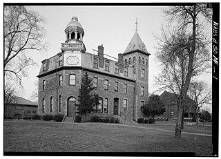 Yankton College United States historic place