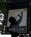 Yard of Ale name sign, Stratford-upon-Avon (geograph 4139995).jpg