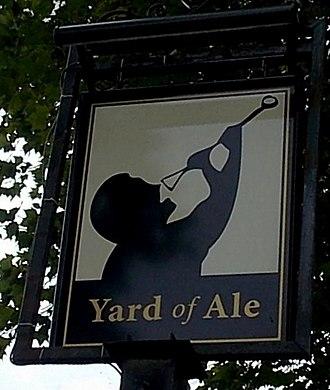 Yard of ale - The Yard of Ale pub, Stratford-upon-Avon