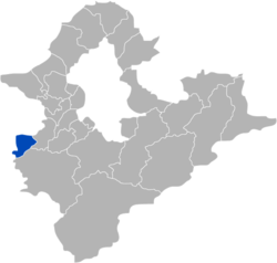 Location of Yingge in New Taipei City