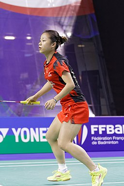 Yonex IFB 2013 - Eightfinal - Lee Hei-chun - Chau Hoi Wah vs Xu Chen - Ma Jin 08