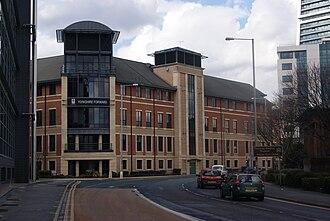 Yorkshire Forward - Former Yorkshire Forward head office in Leeds.