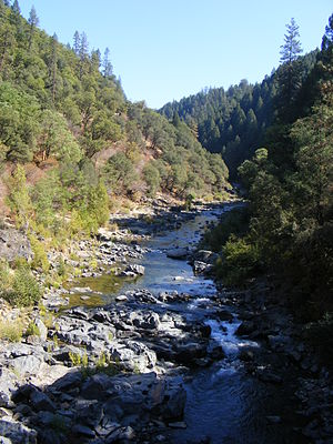 South Yuba River - View of South Yuba from N Bloomfield Road Nevada City, CA