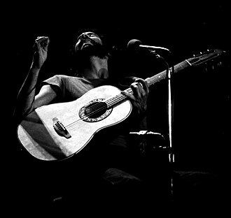 Cat Stevens - Stevens performing in Böblingen, Germany, in 1976