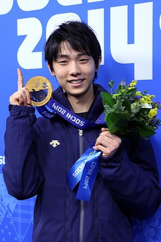 Yuzuru Hanyu - Yuzuru Hanyu at the 2014 Winter Olympics