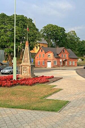 Žemaičių Naumiestis - Town centre