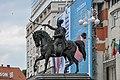 Zagreb Trg Ban Jelacic statue s.jpg