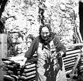 Zdravilna rastlina gabez - pomaga, če ima kdo škodljive oči, Marija Jelačič, Škrle, U mlin 1958.jpg