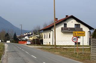 Zgornje Gameljne Place in Upper Carniola, Slovenia
