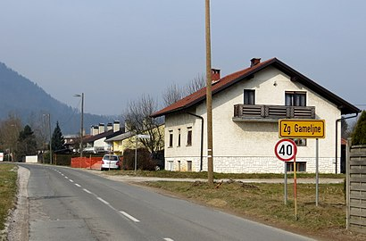 How to get to Zgornje Gameljne with public transit - About the place