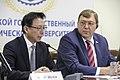 Zhou Shuchun and Aleksandr Ishchenko.jpg