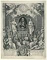 Zinneprent ter ere van Willem III Wilhem Hendrick D.G. Prins van Oranje, Grave van Nassau (..) Cap. en Admirael Generael vande Vereenigde Nederlanden (titel op object), RP-P-OB-77.034.jpg