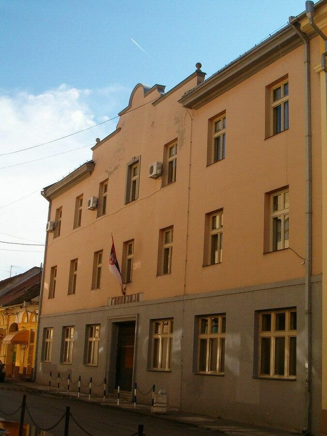 Zrenjanin Grammar School building, Serbia