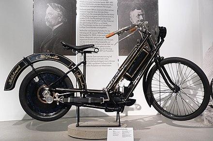 erstes serien motorrad von hildebrand und wolfm ller 1894. Black Bedroom Furniture Sets. Home Design Ideas