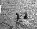 Zweminterland Nederland tegen Italie in Dieren, Ada Kok en Noventa, Bestanddeelnr 916-7693.jpg