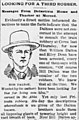 """""""Looking for a Third Robber"""" Article about Bob Dalton, The San Francisco Examiner Tue Sep 8 1891.jpg"""