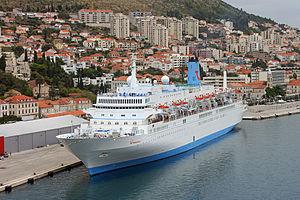 MS Spirit - Thomson Spirit in Dubrovnik, Croatia.