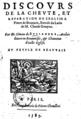 """"""" Discours de la cheute et réparation de l'église S. Pierre de Beauvais , extrait du latin de M. Claude Gouyne, par M. Simon de Bullandre,... Au peuple de Beauvais """".png"""