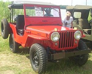 Jeep CJ - 1946 Jeep CJ