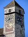 'Zytturm' des Schlosses Rapperswil, Ansicht vom Hauptplatz 2012-10-30 14-39-21 (P7700).JPG
