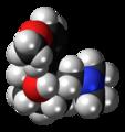 (1R,2R)-Tramadol molecule spacefill.png
