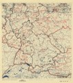 (July 12, 1945), HQ Twelfth Army Group situation map. LOC 2004629204.tif