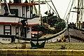 Âncora e barco de pesca - Rio Grande - Porto Velho.jpg