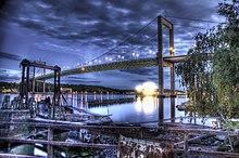 Il ponte Älvsborgsbron di Göteborg