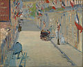 Édouard Manet - The Rue Mosnier with Flags - Google Art Project.jpg