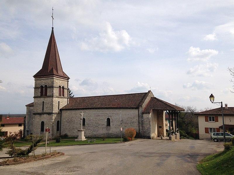 Église de Chaveyriat datant du XXIe siècle