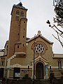 Église Saint-André de Saint-Maurice (Val-de-Marne) vue-nord.jpg