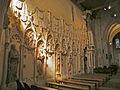 Église Saint-Martin d'Amblainville mur du chemin de croix.JPG