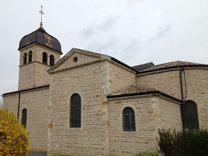 Église Saint-Martin de Francheleins.