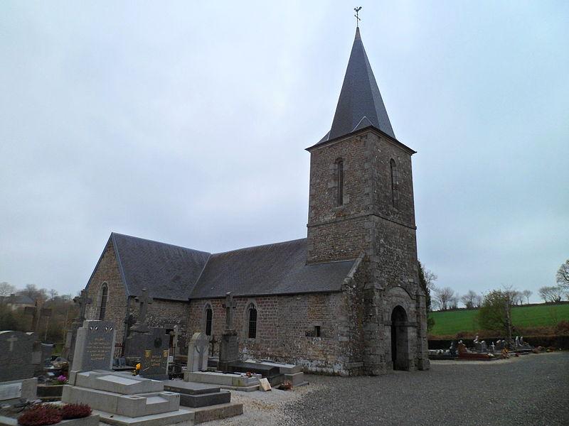 Église Saint-Pierre de fr:Maupertuis (Manche)