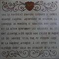 Église Saint-Symphorien de Marnay - plaque edification autel.jpg