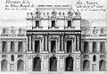 Élévation de la face Majeure du Palais Royal du côté de la 2ème Cour bâtie sur les desseins de Mr Contant d'Ivry - Musée Carnavalet 1988 p140.jpg