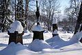 Łupków (Lupkiv) - old cemetery in winter 02.jpg