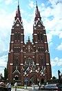 Švėkšnos bažnyčia vasarą, church in summer -D - panoramio.jpg