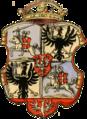 Žygimont Aŭgust, Pahonia. Жыгімонт Аўгуст, Пагоня (1552) crop.png