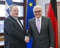 Επίσκεψη Υπουργού Εξωτερικών Ν. Κοτζιά στη Γερμανία και συνάντηση με Γερμανό Υπουργό Εξωτερικών F. W. Steinmeier (16895542972).jpg