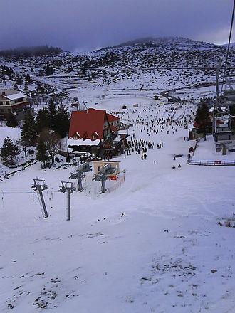 Naousa, Imathia - Seli ski resort, Kato Vermio