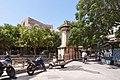 Афины Вид на памятник Лисикрата и стену Акрополя.jpg