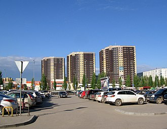 Volgograd Oblast - Image: Г.Волжский. Улица Мира panoramio