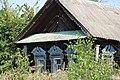 Заброшенная изба с очень красивыми наличниками. д. Княгиниха. Савинский р-н. Ивановская обл. Август 2013 - panoramio.jpg