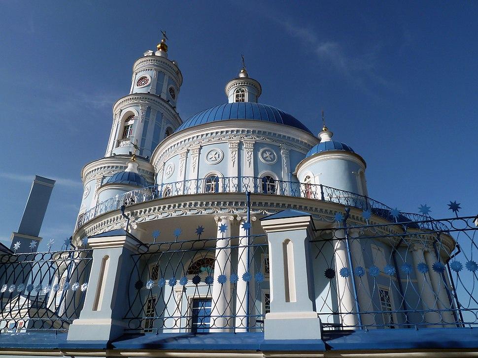 Казанская церковь gjctkjr Ntkmvf