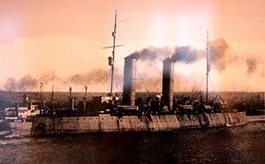 Krassin (1917 icebreaker) - Image: Ледокол Святогор в 1917 году