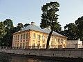 Летний дворец Петра I с фонтанки.jpg