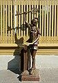 Скульптура Буратино около усадьбы А.Н. Толстого.JPG