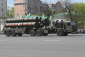 S-400 missile system - S-400 Triumf launch vehicle
